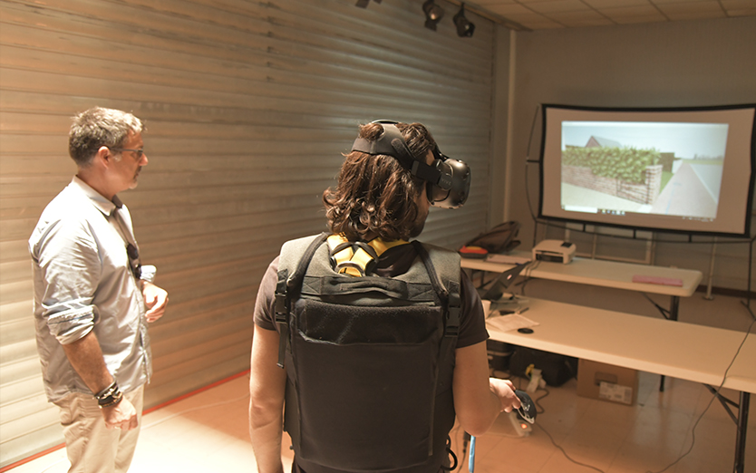 First use of Virtual Reality for Justice